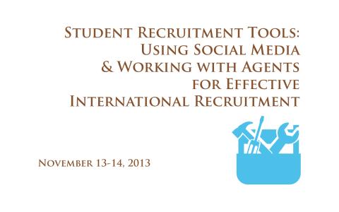 Student Recruitment Tools