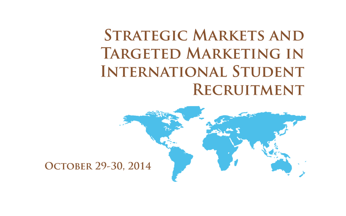 Strategic Markets and Targeted Marketing in International Student Recruitment