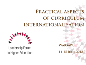 Training: Practical Aspects of Curriculum Internationalisation